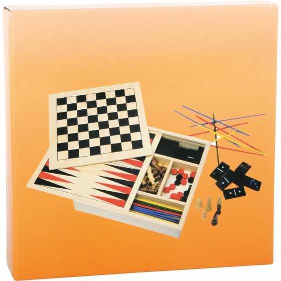 Jeux classiques 4 en 1, idées cadeaux, anniversaire, Noël, jeux, boutique, Fribourg, Suisse