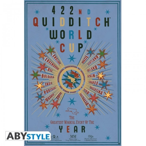 "Harry Potter - Poster ""Quidditch World Cup"""