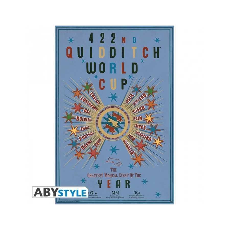 """Harry Potter - Poster """"Quidditch World Cup""""-Geschenke, Weihnachten, Geburtstag"""