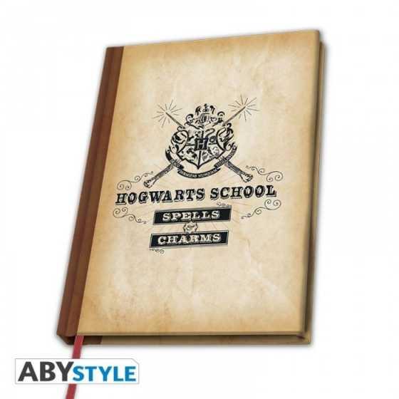 Carnet de Note - Hogwarts School ''Spell & Charms'' - Harry Potter
