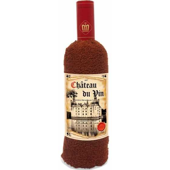 """Handtuch """"Flasche Wein"""", Geburtstag, Geschenkidee, Weihnachten,"""