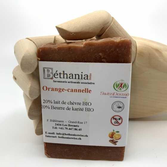 Savon BETHANIA Orange-cannelle