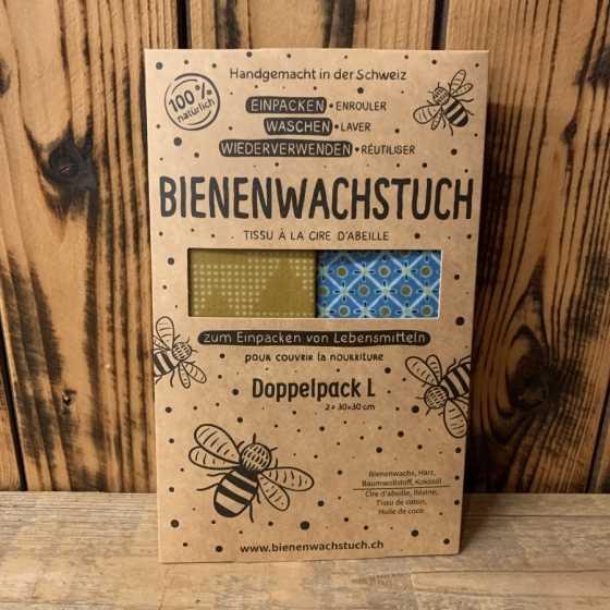 Tissu en cire d'abeille -  produits naturels, zéro déchets, artisanat, fribourg, suisse
