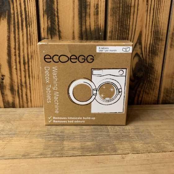 Tablette de nettoyage EcoEgg pour la machine à laver, lessive naturelle, écologique, boutique, fribourg, suisse