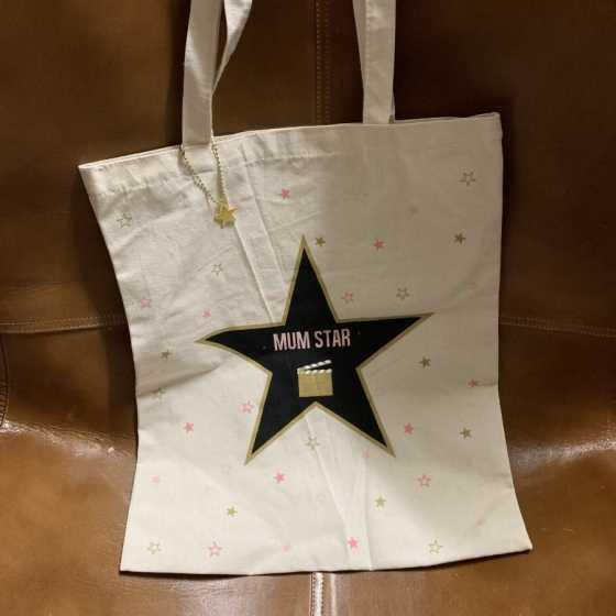 TOTE BAG MUM STAR Boutique,  cadeaux, produits naturels, artisanat,  Harry Potter, Star Wars, Fribourg, Suisse, en ligne