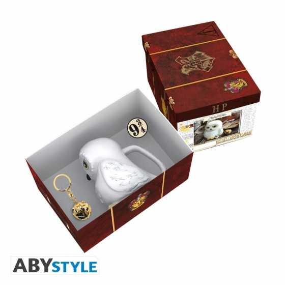 Hedwige-Geschenkpaket unter offizieller Harry-Potter-Lizenz.
