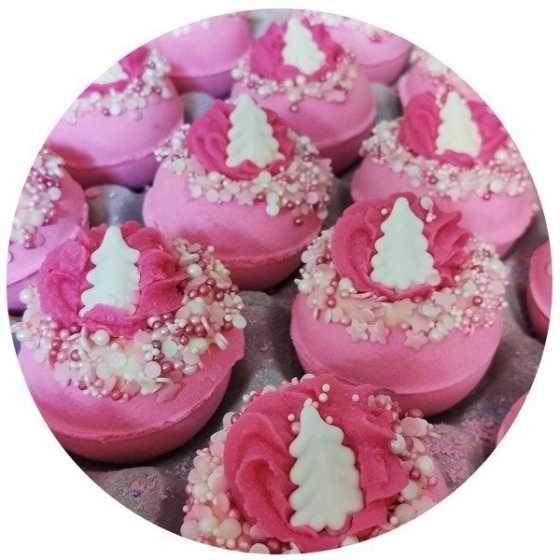 Badekugel - Pink Christmas - Bomb Cosmetics