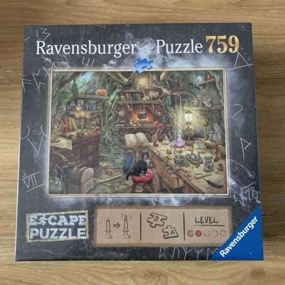 Puzzle Escape La cuisine de la sorcière, idées cadeaux, boutique, Fribourg, Suisse