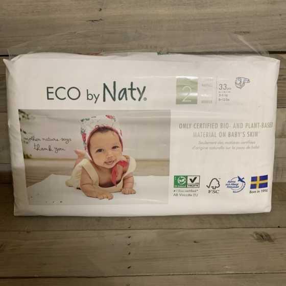 Couches Naty – Taille 2 Mini. 3-6 kg, 33 pcs, bébé, pampers, naturel, écologique, Boutique, Fribourg