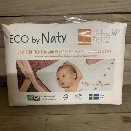 Couches Naty – Taille 1 Newborn. 2 - 5 kg, 25 pcs, bébé, pampers, naturel, écologique, Boutique, Fribourg