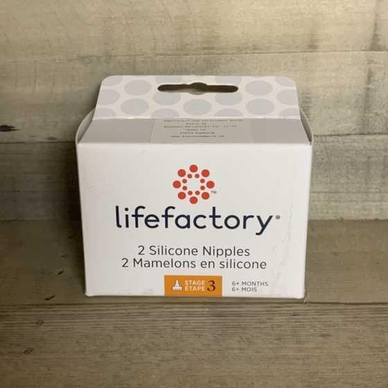 Lifefactory Nippel 2 Pack - Grösse 3 (6-9 Monate) Produkte, natürlich, ökologisch, baby, Freiburg, Schweiz