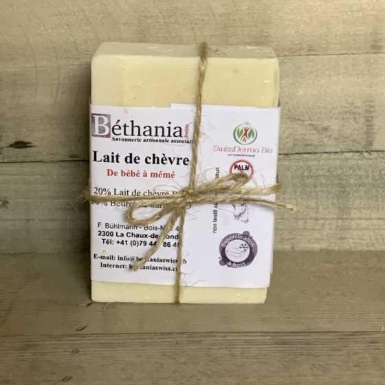 Seife BETHANIA Ziegenmilch 100% Natur