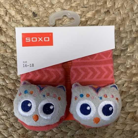 chaussette soxo bébé hochet cadeaux naissance, suisse