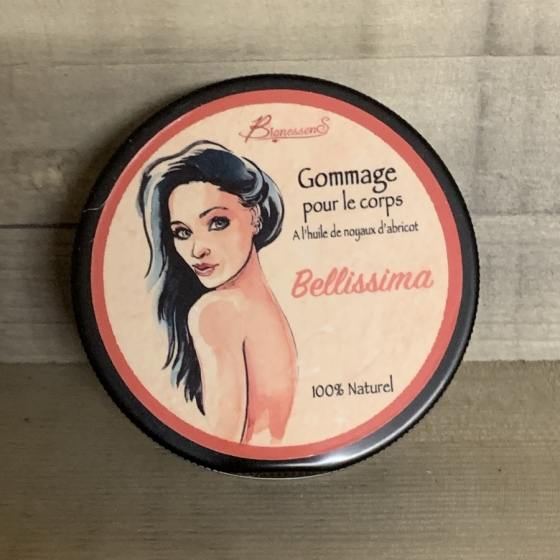 Bellissima - Gommage pour le corps BionessenS, produit naturel, artisanat, suisse, cosmétique