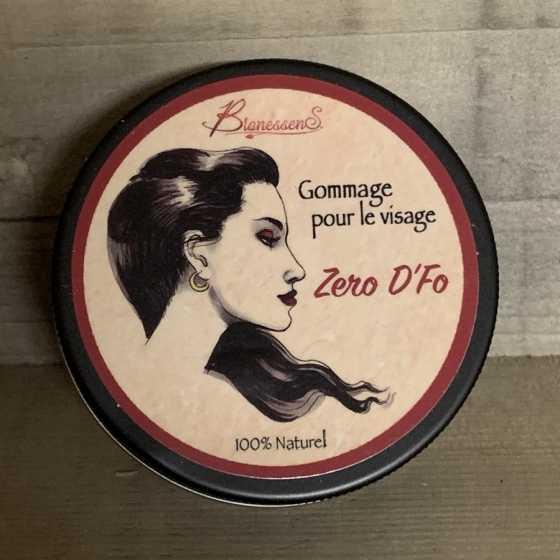Gommage visage - Zero D'fo BionessenS, produit naturel, artisanat, suisse, cosmétique