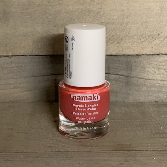 Vernis à ongles pelable rose, Namaki, produits naturels, cosmétiques, enfants, Boutique, Fribourg, Suisse