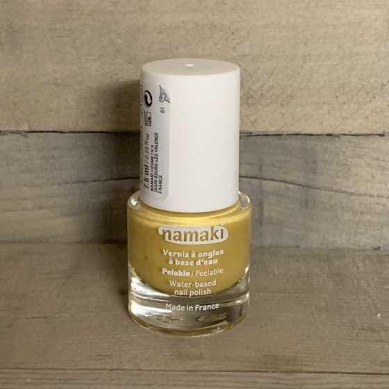 Vernis à ongles pelable Or, Namaki, produits naturels, cosmétiques, enfants, Boutique, Fribourg, Suisse