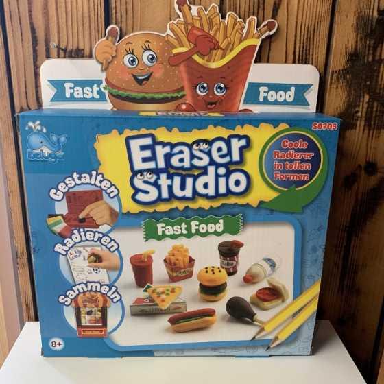 Eraser Studio - Fast Food, Beluga, Design, Radiergummi, Shop, Geschenkideen, Kinder, Fribourg, Schweiz