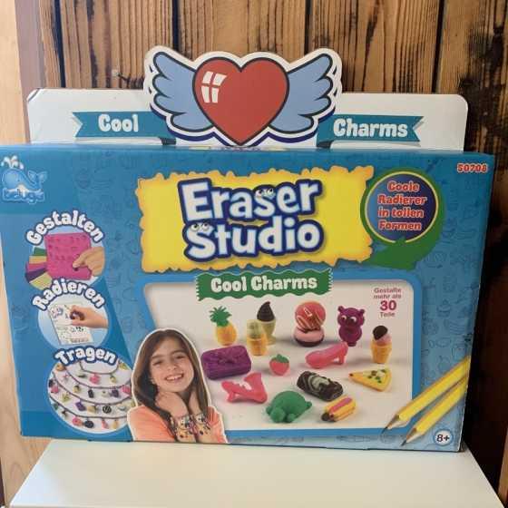 Eraser Studio - Cool Charms, Beluga, Design, Radiergummi, Shop, Geschenkideen, Kinder, Fribourg, Schweiz