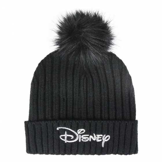Disney Pompon Beanie, schwarz, Geschenkidee, Geburtstag, Kind, Weihnachten, Shop, Freiburg, Schweiz