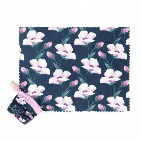 Chiffon de nettoyage pour lunettes et écrans Flower Bloom