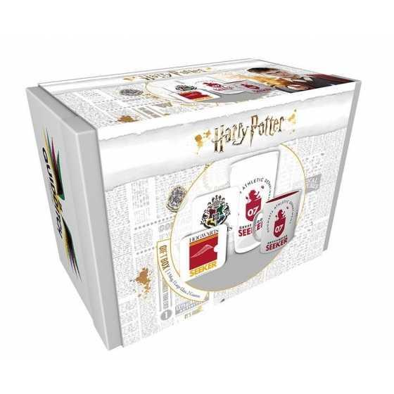 Harry Potter coffret cadeau Quidditch