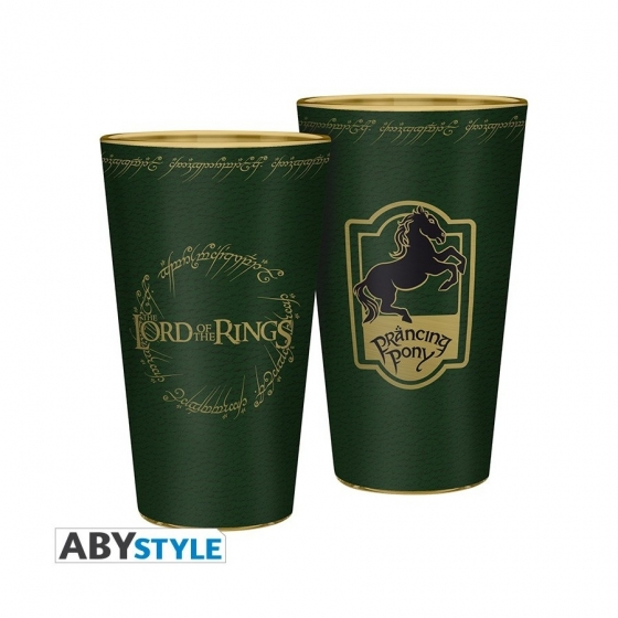 Verre XXL - Poney Fringant - Lord of the Rings