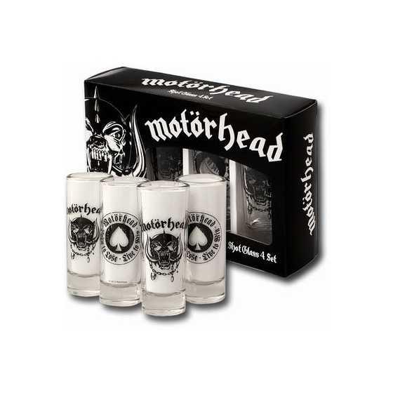 Motörhead Set 4 verres à shot