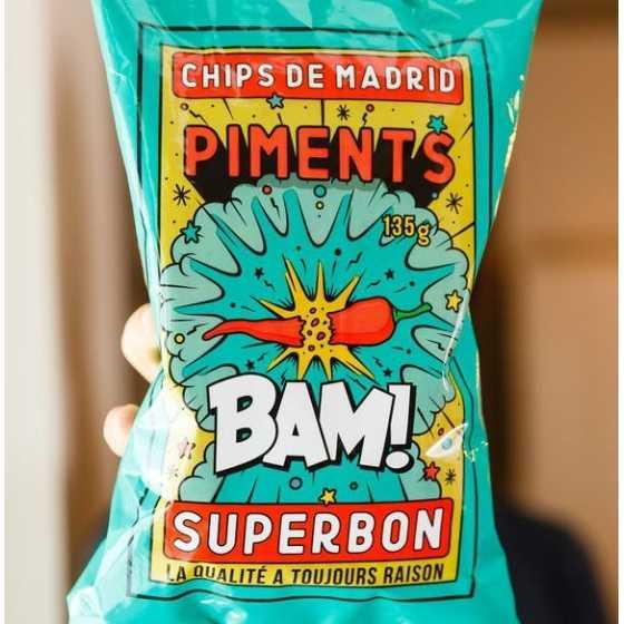 Chips Piments 135 - Superbon
