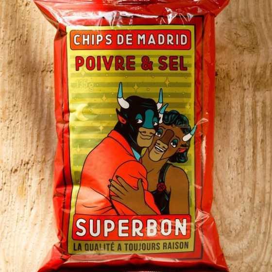 Chips Poivre 135 - Superbon