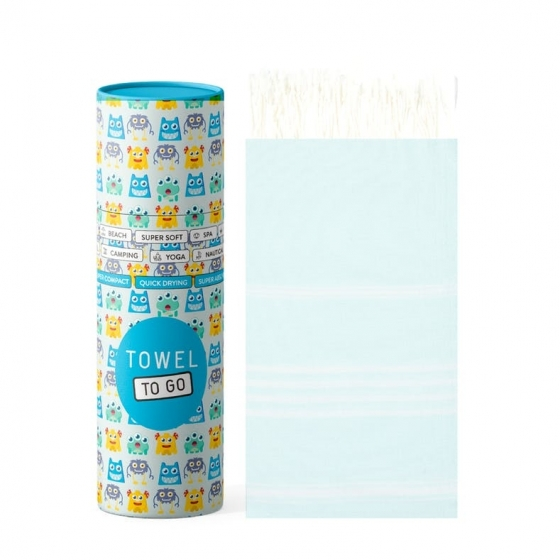 Towel To Go Serviette de Hammam Ipanema Kids Mint