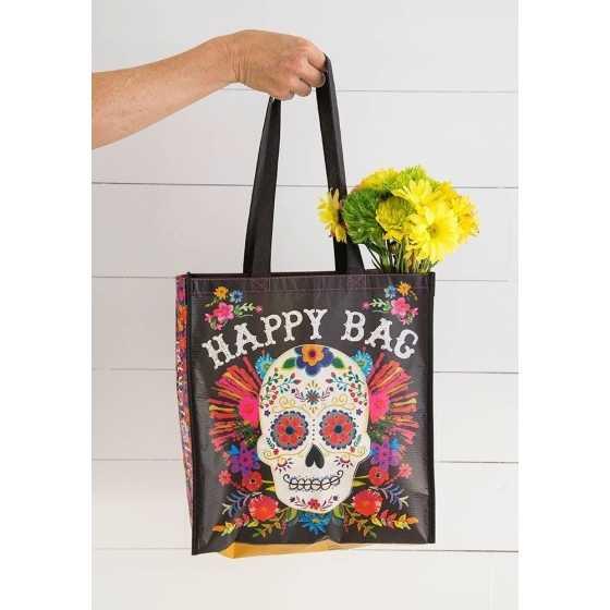 Tasche Flower Skull