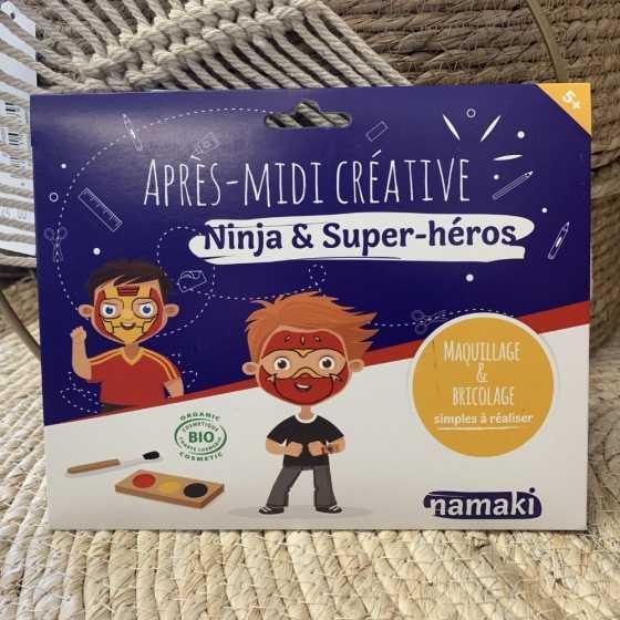 Pochette Après-midi créative Ninja & Super-Héros Namaki