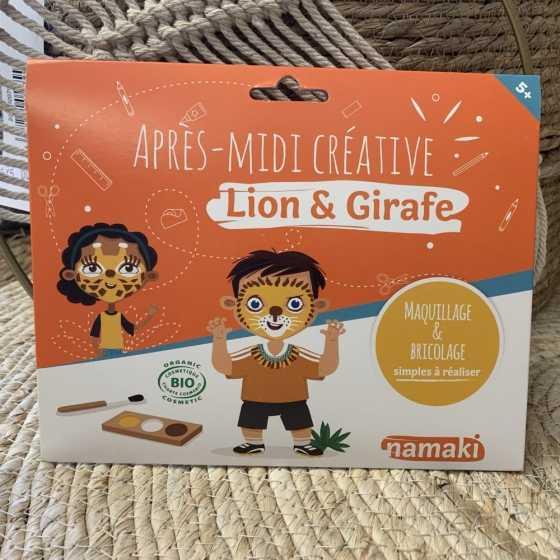 Pochette Après-midi créative Lion & Girafe Namaki