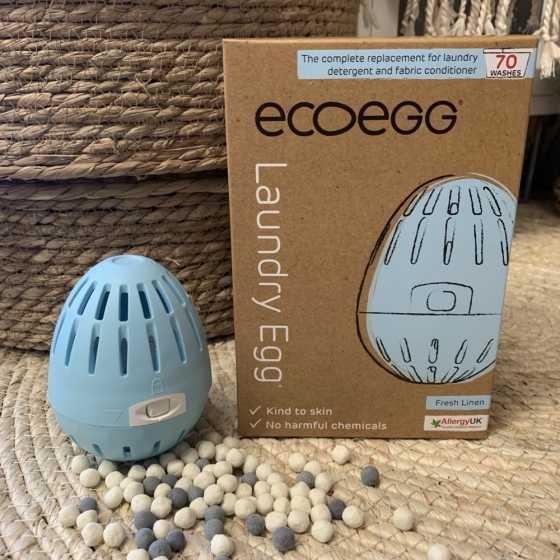 EcoEgg das Wasch-Ei – 70 - Frische Wäsche natürliches waschmittel, ökologisch, shop, fribourg, schweiz