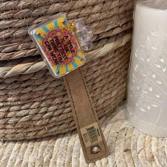Fantasievoller Schutz für die Zahnbürste Smiley