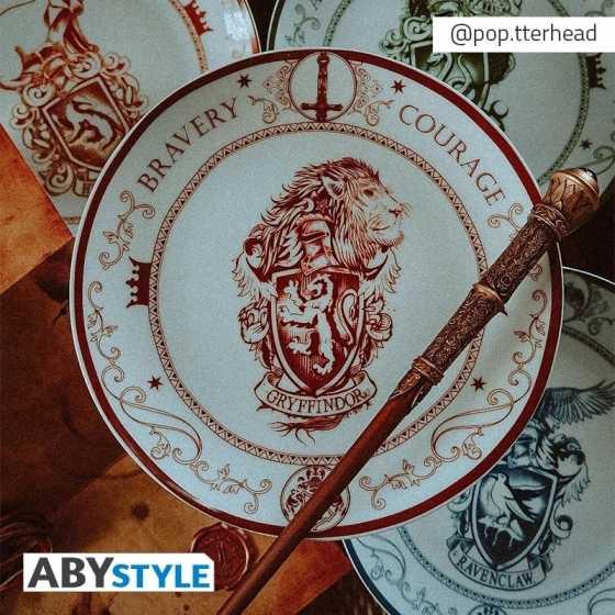 Assiettes - Maisons Poudlard - Harry Potter - set de 4 assiettes