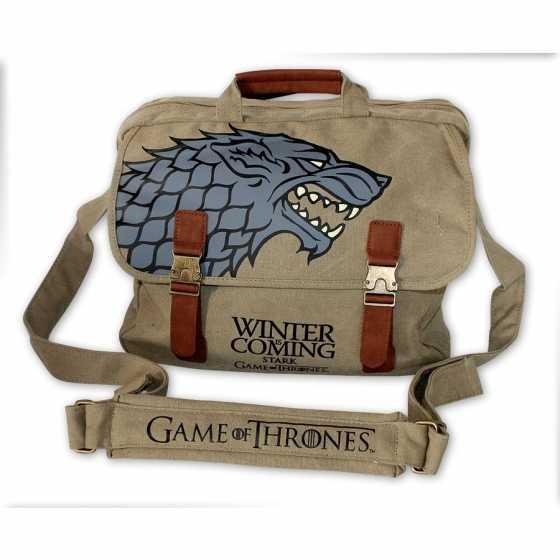 """Game of Thrones Stark """"Winter is Coming"""" Umhängetasche"""