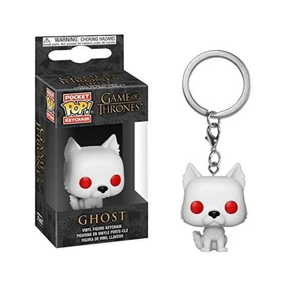 Ghost - Game of Thrones - Pocket POP Keychain - 5 cm