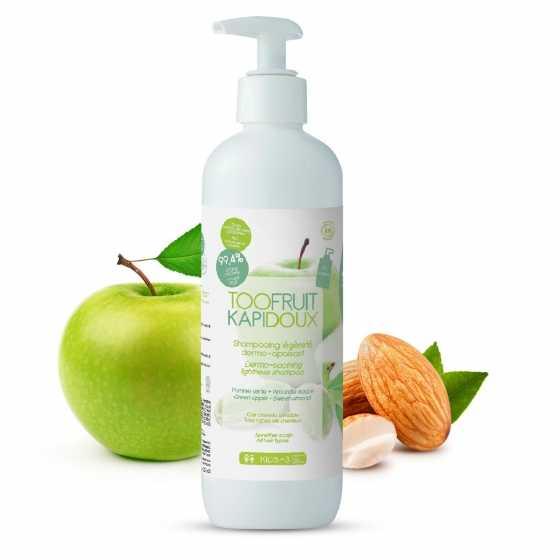 Kapidoux - Shampooing - Pomme-Amande - 400 ml - Toofruit