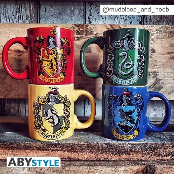 Set Mini Mug - Harry Potter - Serpentard & Poufsouffle