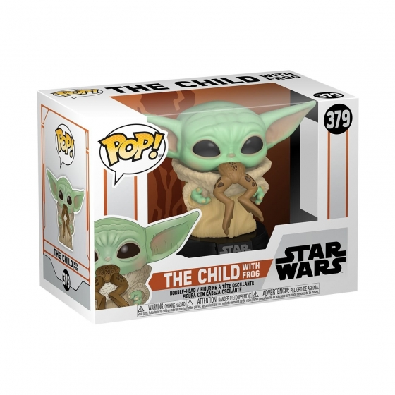 The Child with Frog - Star Wars : The Mandalorian (379) - POP TV
