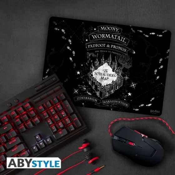 Tapis de souris gaming Carte du Maraudeur - Harry Potter