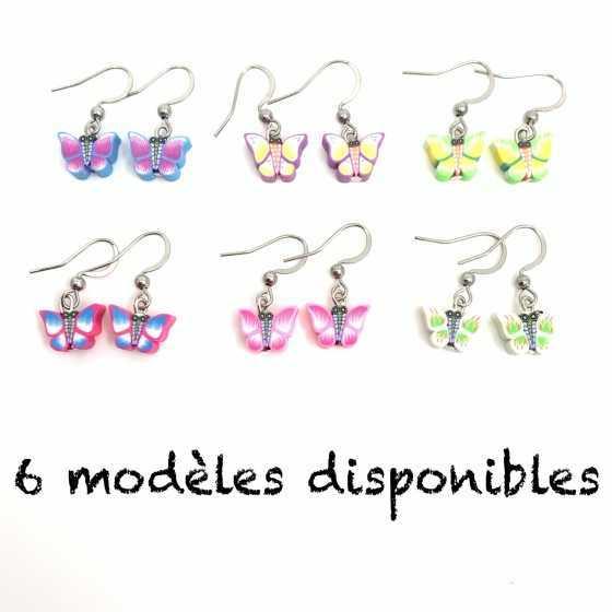 """Boucles parfumées """"Papillons"""""""