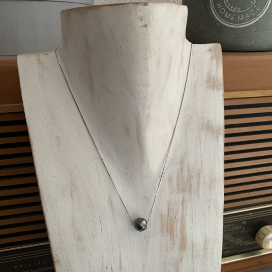 Handgefertigte Hämatit Perlenkette