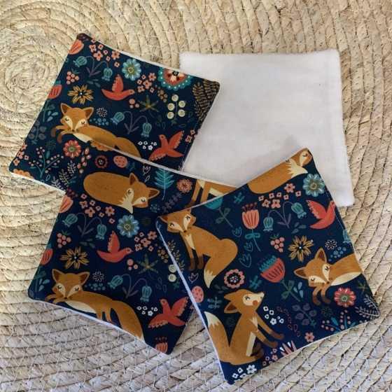 Abwaschbare Babytücher Fuchs