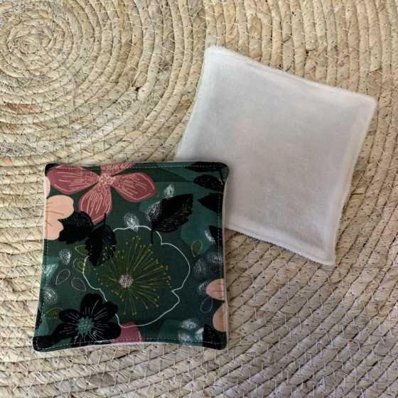Lingette lavable Flowers