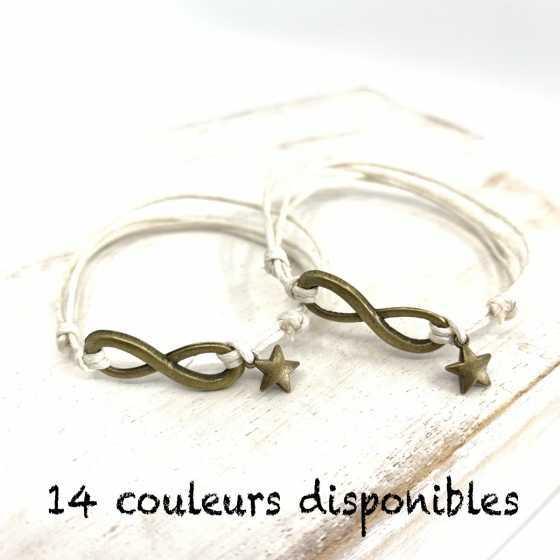 Bracelets d'Amitié Infinity...