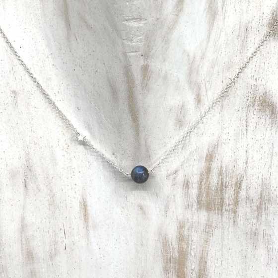 Collier simplicity Labradorite