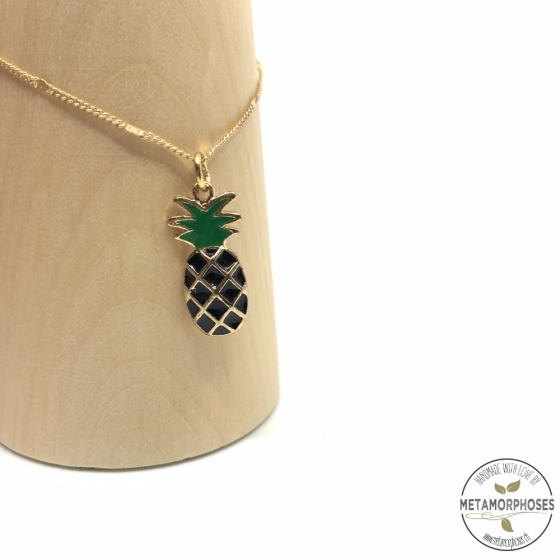 """Fusskette """"Schwarze Ananas"""""""